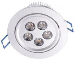Đèn LED âm trần mắt ếch 5W nhôm dày