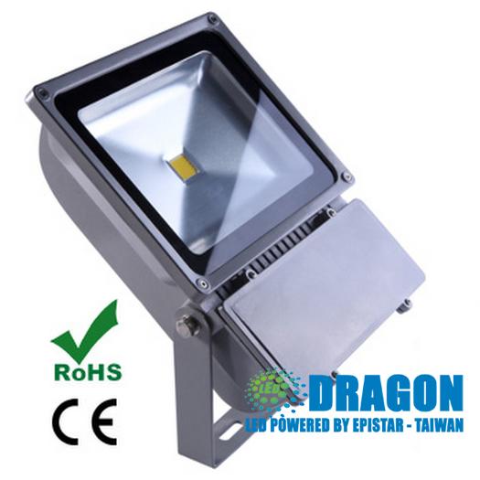 Đèn pha LED 70W đủ 100% công suất