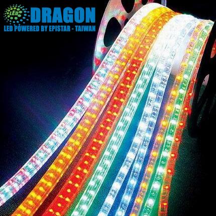 Đèn LED dây 5050 cuộn 100m đơn màu 60led/m