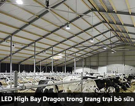 Đèn LED nhà xưởng Dragon 100w
