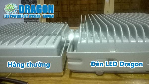 đèn LED đủ công suất vỏ đúc