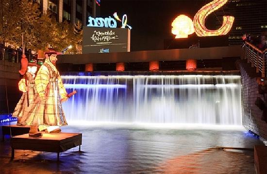 Rực sáng đèn LED tại lễ hội đèn lồng Seul 2015