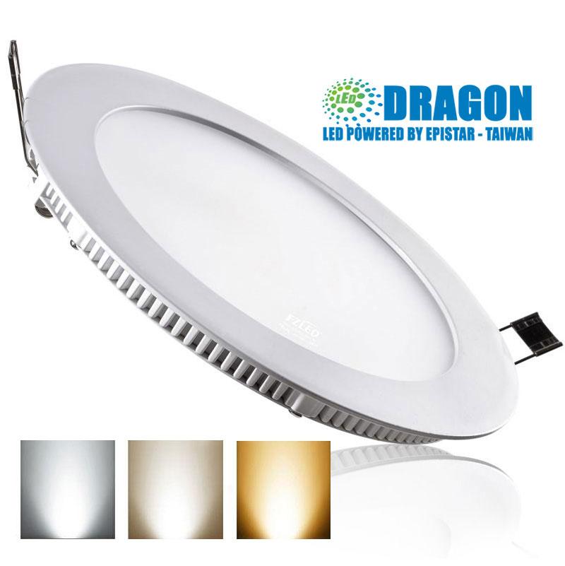 Đèn LED âm trần 12W 3 chế độ