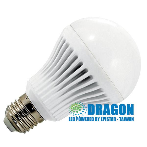 Đèn LED Búp 7W nhựa