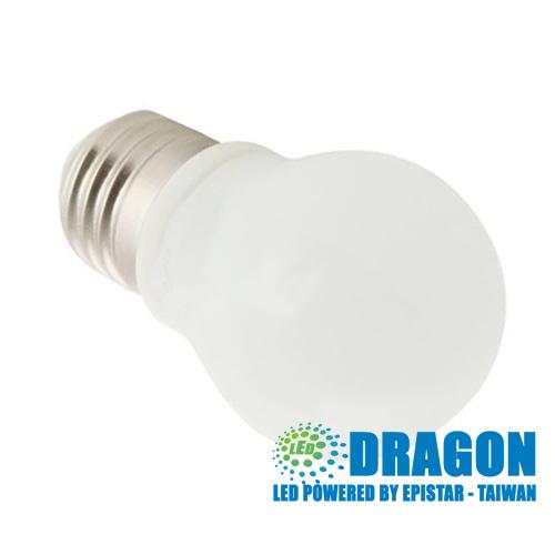 Đèn LED Búp 7W thủy tinh sứ