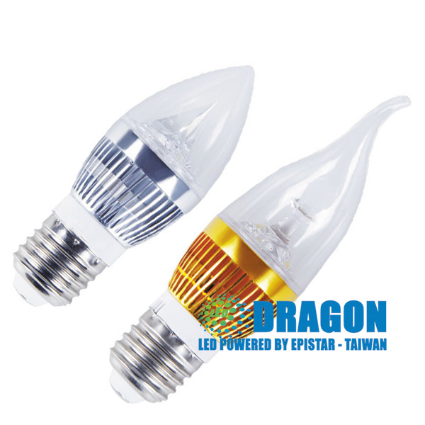 Đèn LED Nến 3W các loại