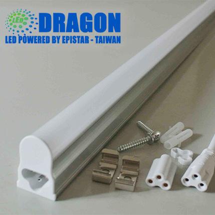 Đèn LED Tube T5 10W 60cm, kèm máng