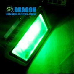 đèn pha led 150W xanh lá