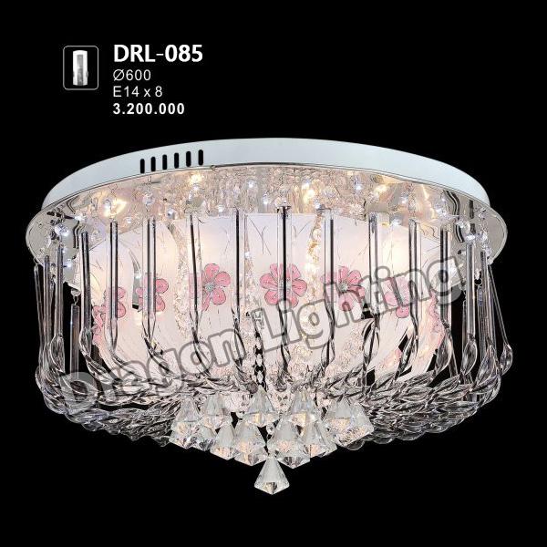 Đèn mâm tròn pha lê Dragon DRL-085