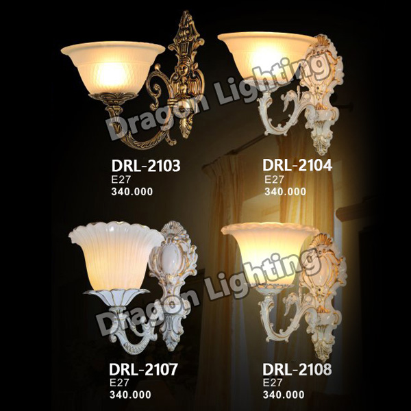 Đèn tường cổ điển Dragon DRL-2103