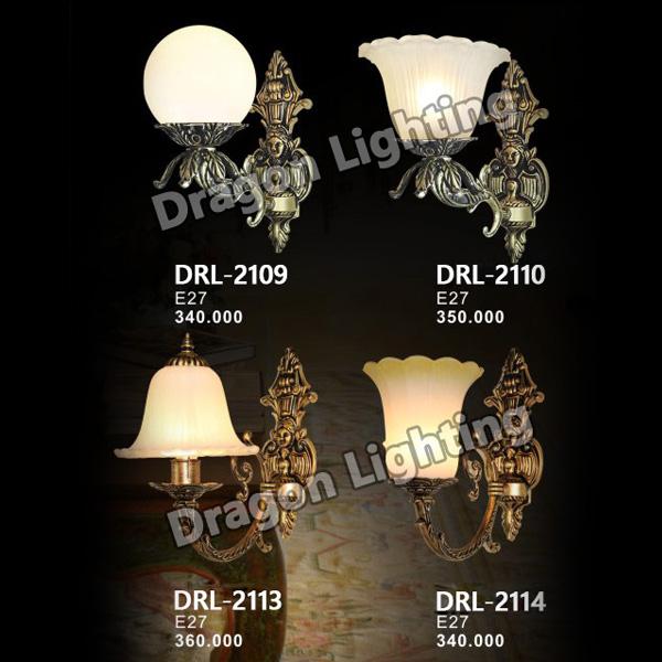 Đèn tường cổ điển Dragon DRL-2109