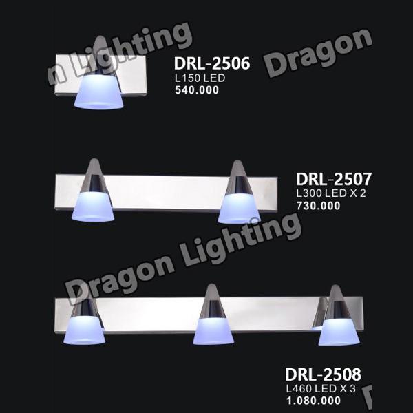 Đèn soi gương/soi tranh kiểu vỏ ốc Dragon DRL-2506