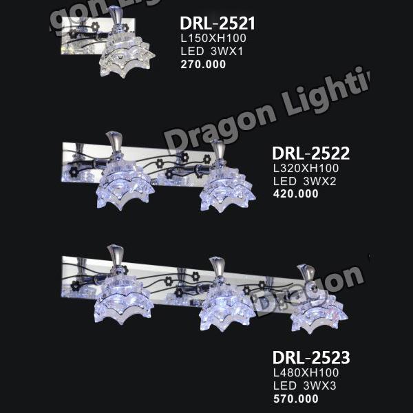 Đèn soi gương/soi tranh hoa sen Dragon DRL-2521