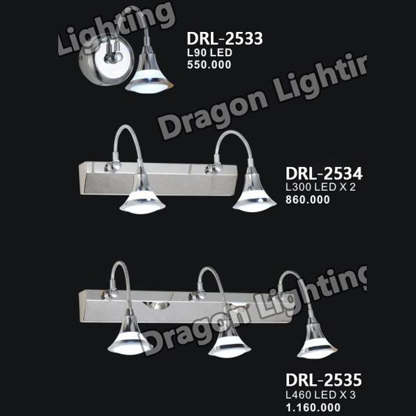 Đèn soi gương/soi tranh mắt ếch Dragon DRL-2527
