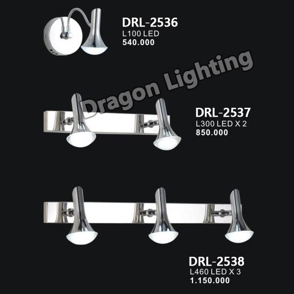 Đèn soi gương/soi tranh mắt ếch Dragon DRL-2536