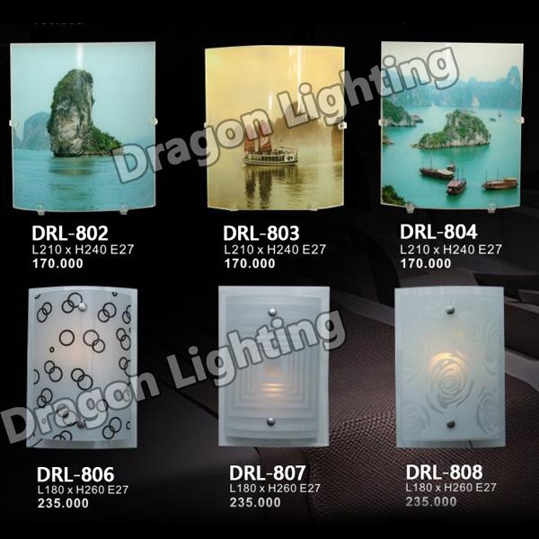 Đèn tường in phong cảnh Dragon DRL-802