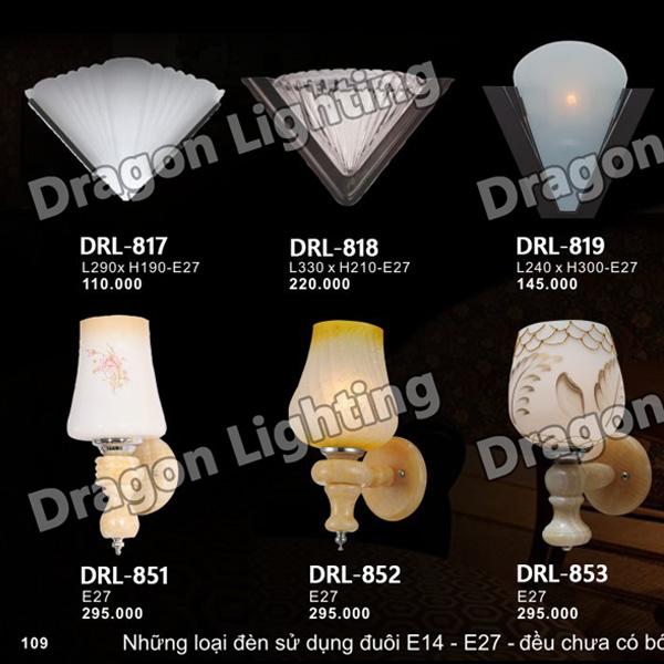 Đèn tường kiểu vỏ ốc Dragon DRL-818