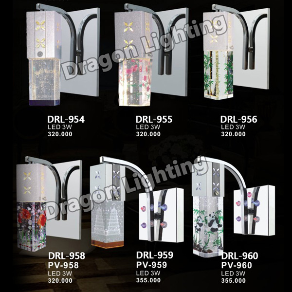 Đèn tường 3D Dragon DRL-960