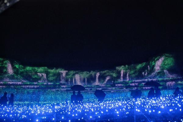 Công viên đèn LED nghệ thuật ở Nhật