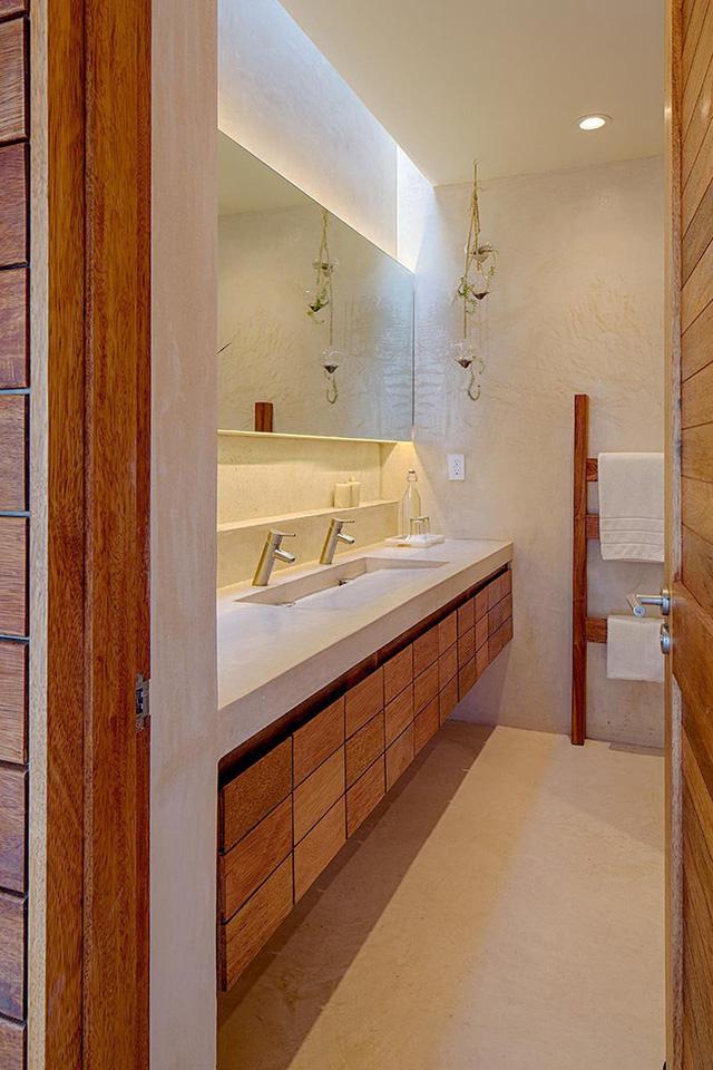 9 phương án bố trí đèn led cho phòng tắm sang trọng