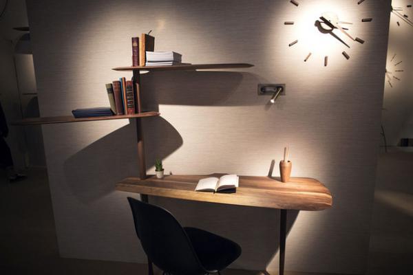 Bố trí đèn LED cho phòng làm việc sang  trọng