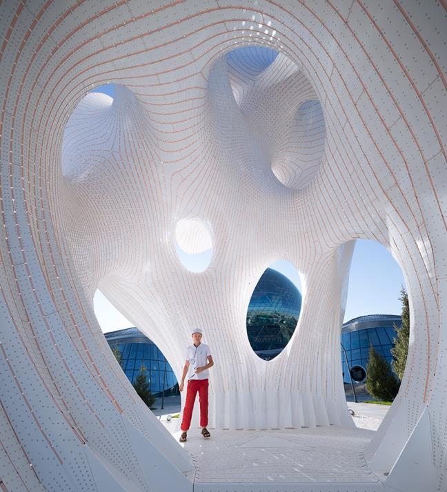 Đèn LED ứng dụng trong thiết kế kiến trúc nghệ thuật