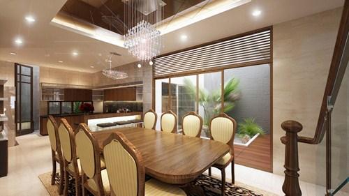 Cách bày đèn LED âm trần hợp lý cho từng phòng trong căn hộ