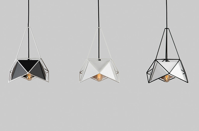 Đèn LED nghệ thuật với những kết cấu hình học