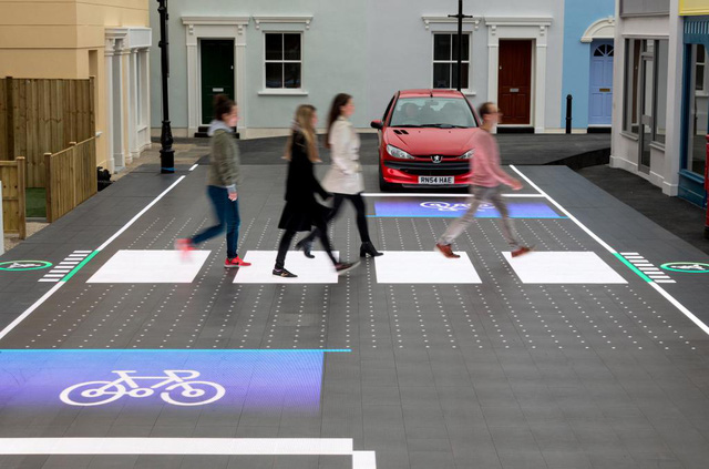 Đèn đường LED công nghệ mới, an toàn tuyệt đối.