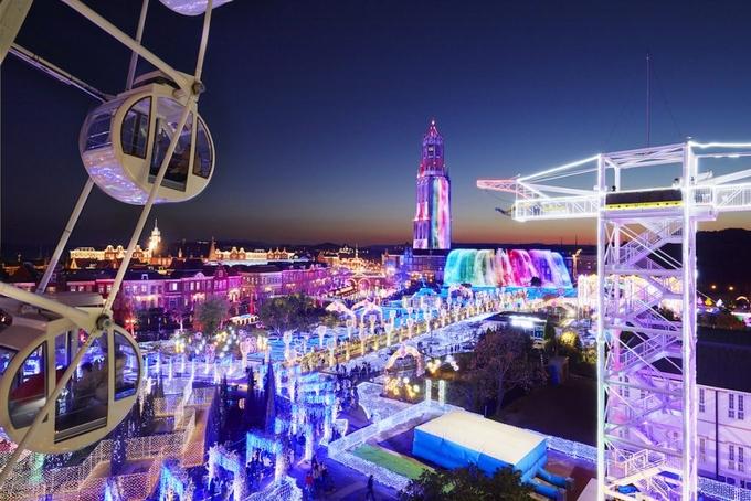 Rực rỡ lễ hội đèn LED cuối năm tại Nhật.