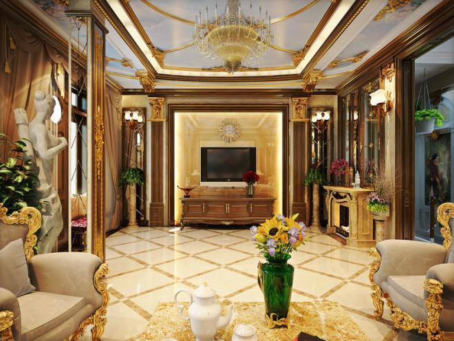 Những món không thể thiếu trong ngôi nhà phong cách hoàng gia cổ điển