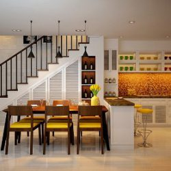 Giải pháp chiếu sáng cho nhà bếp, phòng ăn