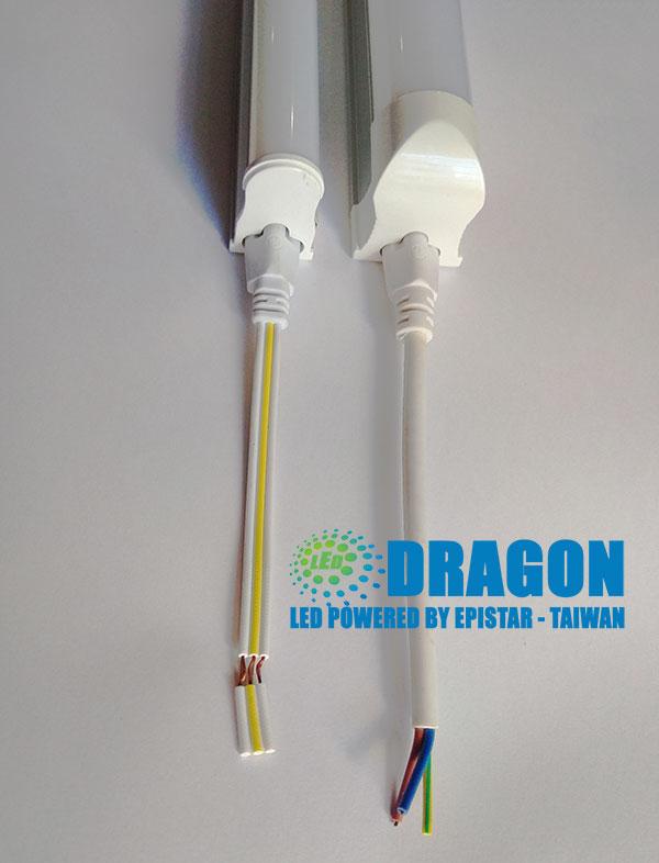 Hướng dẫn nối dây đèn LED tuýp T5, T8 dây đầu.