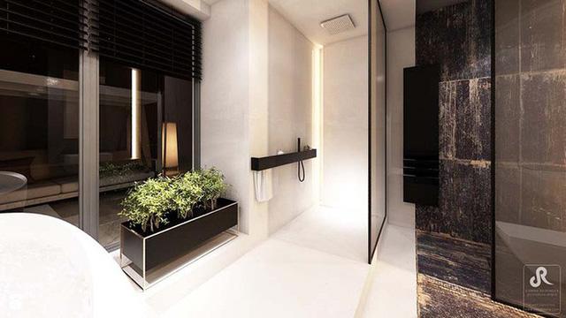 10 tuyệt chiêu lắp đèn LED trong phòng tắm sang chảnh như spa